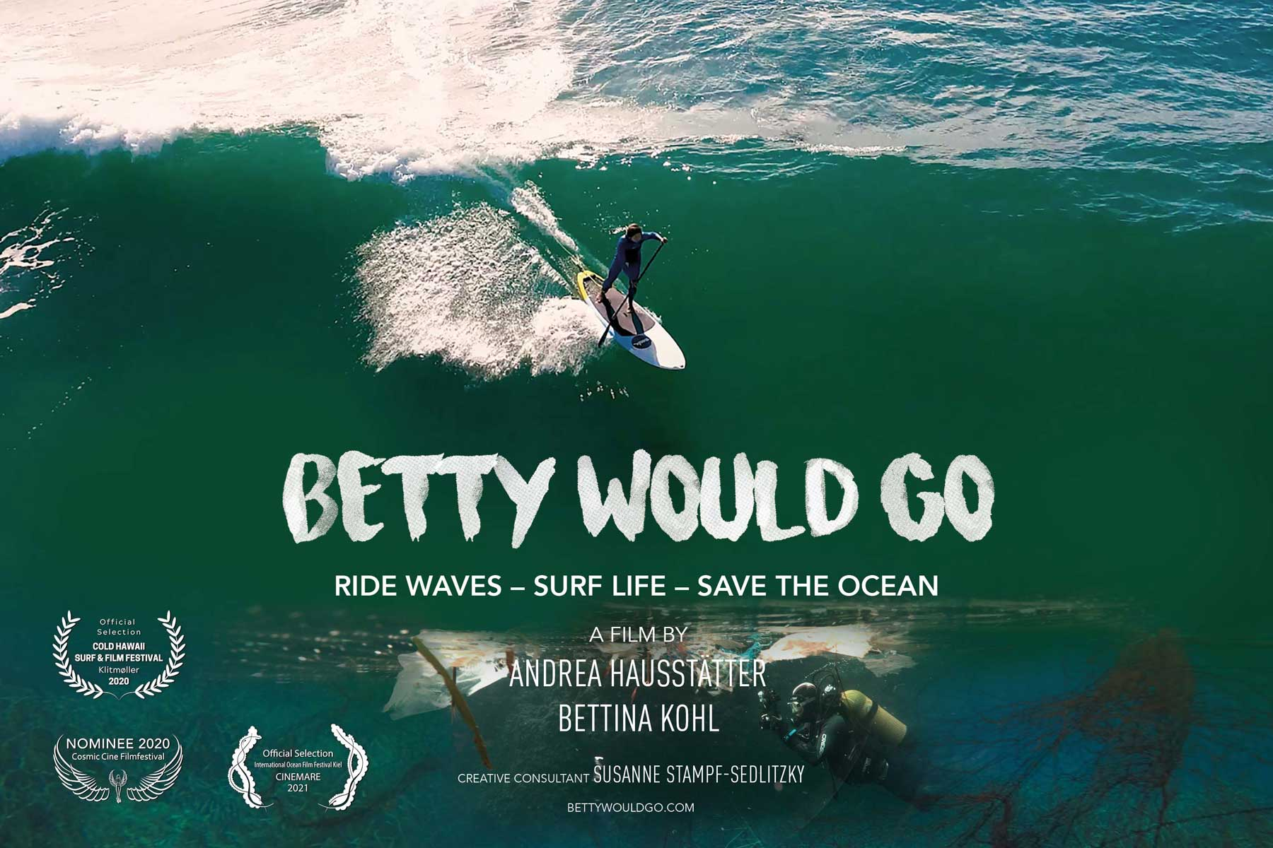 Betty Would Go Poster
